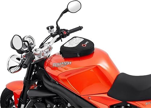 QBag Sacoche de réservoir pour motocyclette aimantée Sac de réservoir Aimant pour moto Aimant pour moto Sac de réserv...