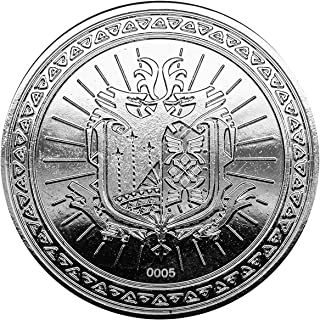 Monster Hunter Collectable Coin The Hunt Awaits (Silver Plated) Iron Publishing