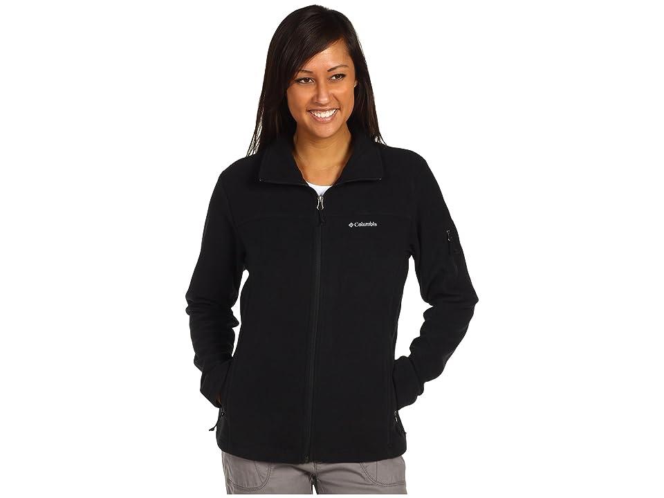 Columbia Fast Trektm II Full-Zip Fleece Jacket (Black) Women