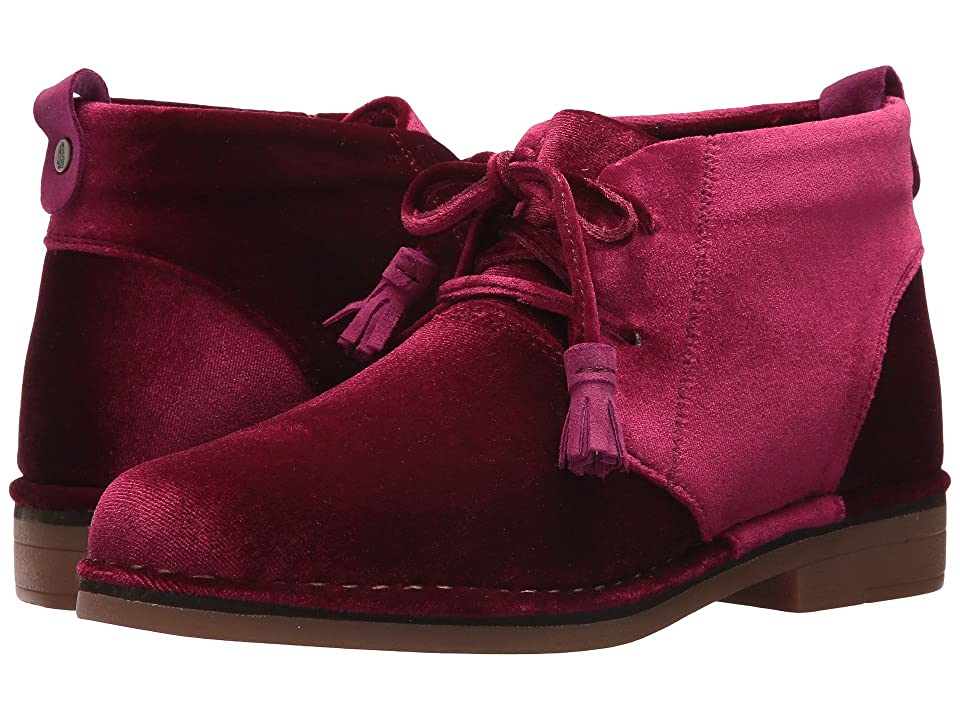 Hush Puppies Cyra Catelyn (Wine Velvet) Women