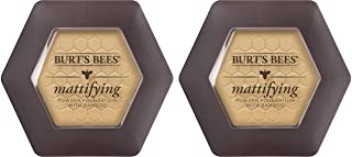 Burt's Bees 100% Natural Origin Mattifying Powder Foundation, Bamboo - 0.3 Ounce (Pack of 2)