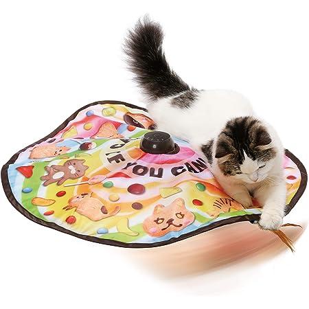 【AmazonCM登場商品】猫壱(necoichi) キャッチ・ミー・イフ・ユー・キャン2 猫用電動おもちゃ