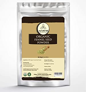 Naturevibe Botanicals Fennel Seed Ground Powder 5lb | Organic Foeniculum Vulgare | Non-GMO and Gluten Free | Indian Spice