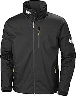 Helly-Hansen Crew Hooded Midlayer Chaqueta impermeable, cortavientos y transpirable para hombre, con forro polar y capucha...