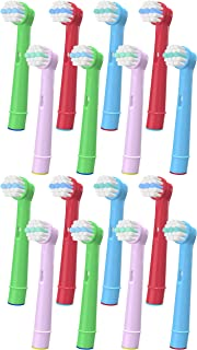 YanBan Kids Electric Toothbrush Heads for Oral B, Replacement Brush Heads Kids Toothbrush Heads Compatible with Braun, for...