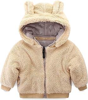 Mud Kingdom Little Boy Fleece Jacket with Hood Ear Winter Reversible