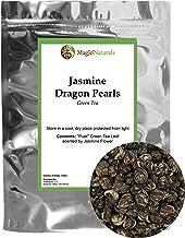 Imperial Jasmine Dragon Pearls | Loose Leaf Green Tea | Jasmine Green Tea with Amazing Aroma (4 oz)