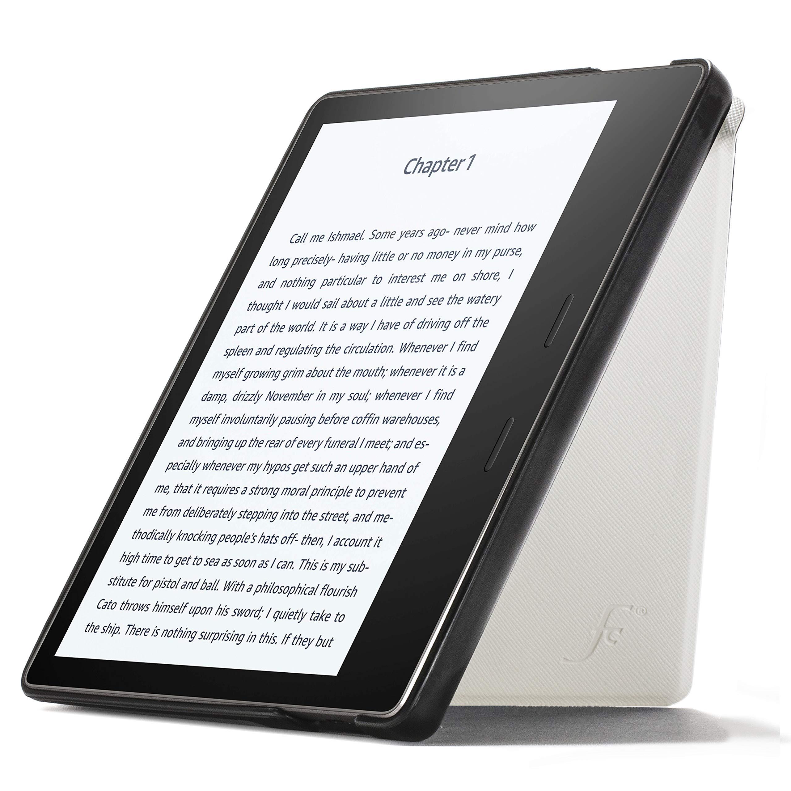 Forefront Cases Funda para Kindle Oasis 2019 | Estuche y Soporte Protectora con Cierre Magnético para Amazon Kindle Oasis 2019 (10.ª generación) | Ultra Delgado Ligero | Blanco: Amazon.es: Electrónica