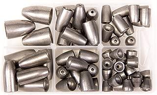 Bullet Weights Ultra Steel Bullet Weights Sinker Kit (Natural, 60 Piece Kit)