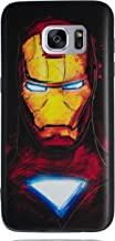 Galaxy S7 Edge 3D Marvel Silicone Phone Case/Gel Cover for Samsung Galaxy S 7 Edge (S7 Edge/G935) / Screen Protector & Cloth/iCHOOSE/Ironman