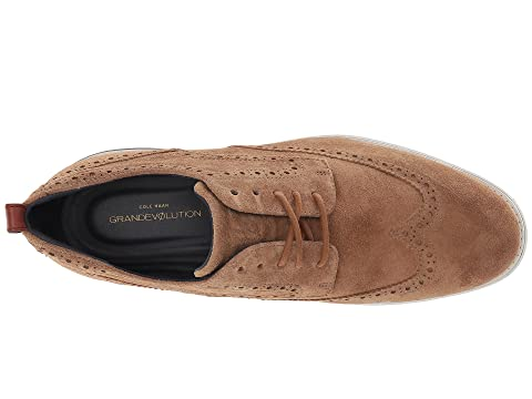 Grand Woodbury Shortwing White Cole Dark Leather Haan Roast Evolution Optic PwOIZq