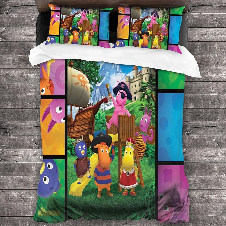 YSLPshop The Backyardigans 3-Piece Bedding Free shipping New Cartoon Duvet 86 Direct stock discount X70