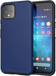 Pixel 4 Case, Crave Dual Guard Protection Series Case for Google Pixel 4 - Navy