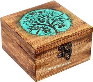 جعبه جواهرات دستبند دستباف عتیقه جواهرات زنانه-مردانه | لهجه های دکوراسیون منزل | جعبه های تزئینی | ذخیره سازی و سازمان دهنده