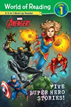 World of Reading: Five Super Hero Stories! (World of Reading (eBook))