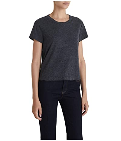 AG Adriano Goldschmied Del Rey Tee (Heather Charcoal) Women