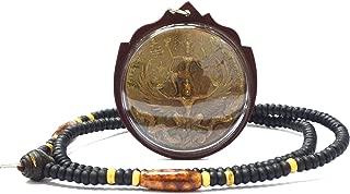 Powerful Amulet Pendant Phra Vishnu Narayana Ride Garuda Back Hanuman by Lp Kalong Wat Khaolaem Thai Buddha Amulet