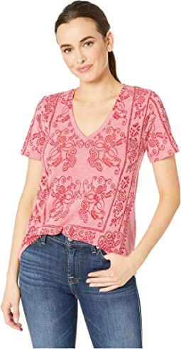 e735cacd0 Lucky brand plus size journey cold shoulder tee | Shipped Free at Zappos