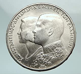 1964 unknown 1964 GREECE Marriage Constantine and Anne-Marie A coin Good Uncertified