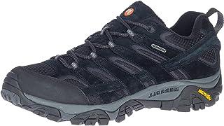 حذاء مشي رجالي Moab 2 مقاوم للماء من Merrell, (بلاك نايت), 45 EU