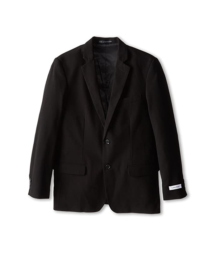 Suit Jacket (Big Kids) (Black) Boy's Jacket