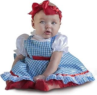 Baby Girls' The Wizard of Oz Dorothy Newborn Deluxe Costume