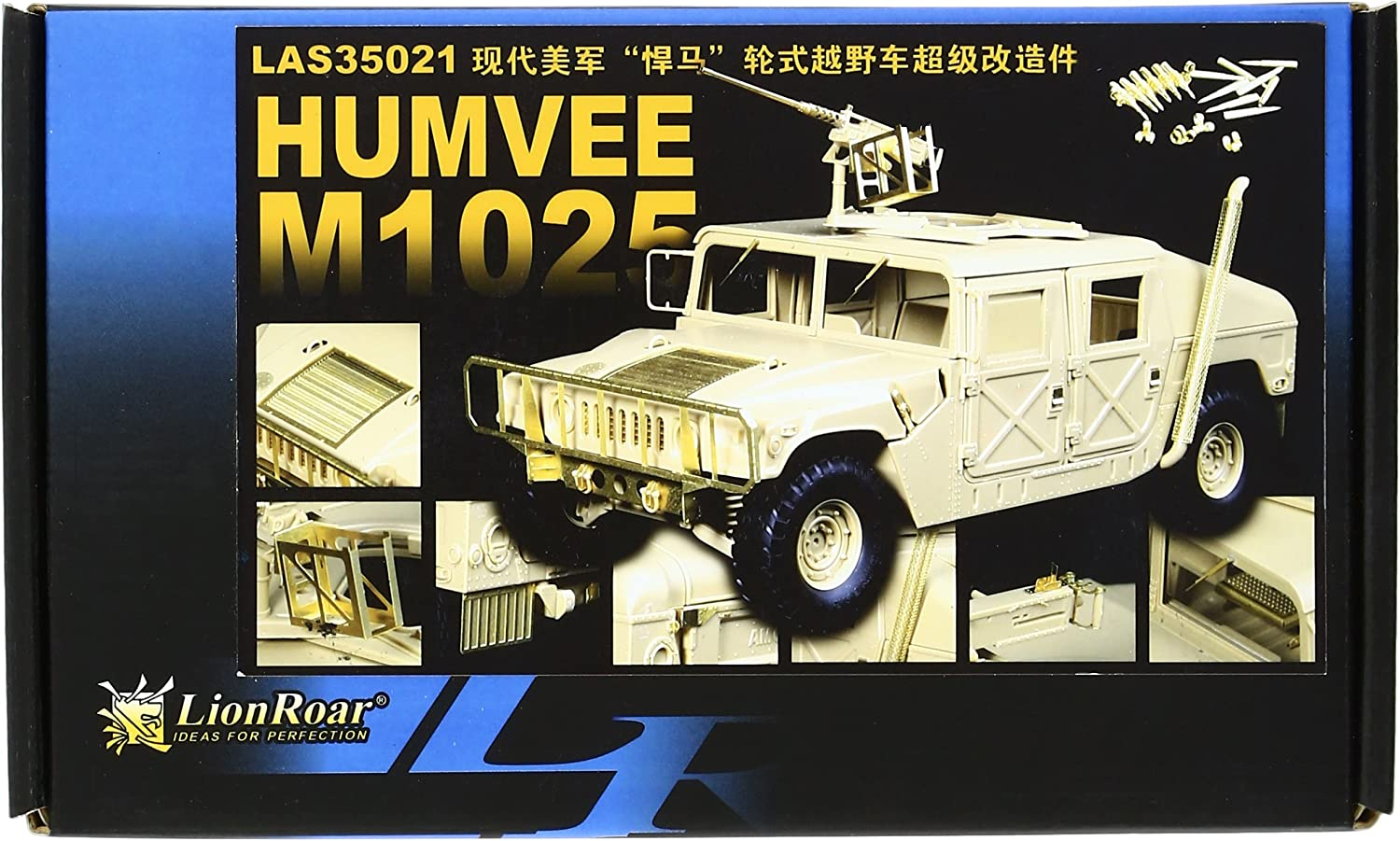 entrega rápida 1 35 35 35 U.S. Army M1025 Humvee emboldened for Detail Up Parts Set (LAS3521) (japan import)  80% de descuento