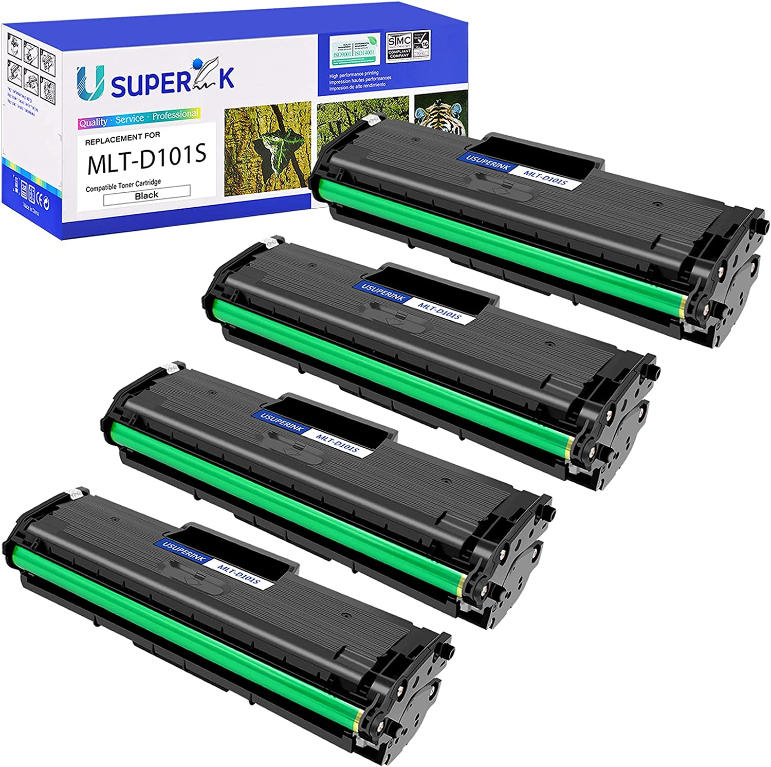 SuperInk 4 Milwaukee Mall Pack Compatible Toner Replacement Samsu Cartridge Beauty products for