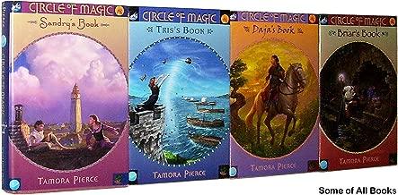 Circle of Magic Quartet (The COMPLETE 4-Book Set: 1. Sandry's Book; 2. Tris's Book; 3. Daja's Book; 4. Briar's Book)