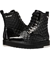 LOVE Moschino - Quilted Combat Sneaker