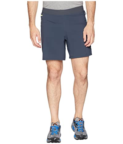 Brooks Cascadia 7 2-in-1 Shorts (Asphalt) Men