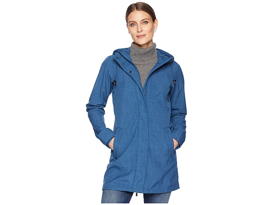 Ilse Jacobsen Lightweight Shorter Coat (Blue Rock) Women