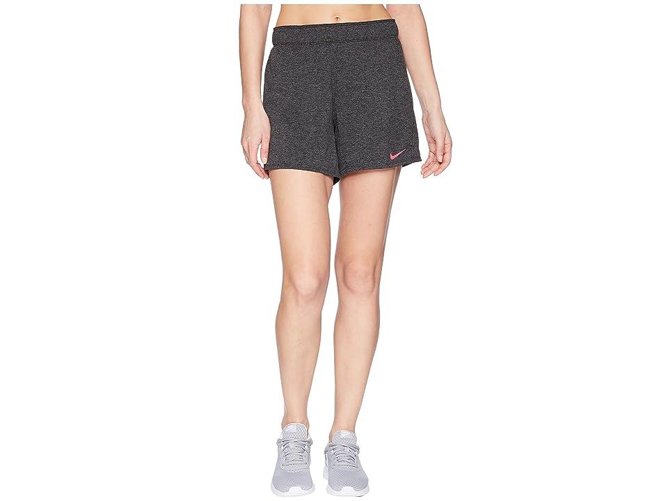 Nike Flex Attack Training Short (Black/Heather/Rush Pink) Women