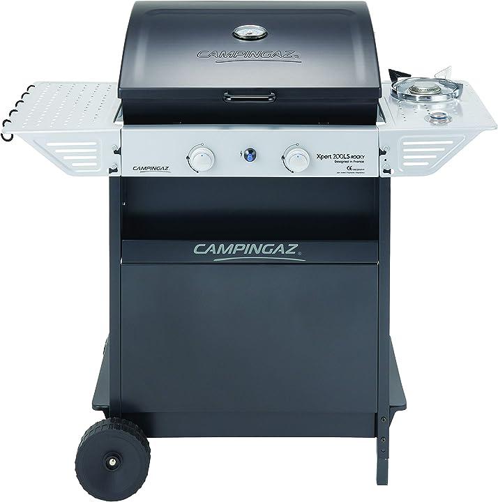 Barbecue a gas,  campingaz xpert 200 ls rocky grigio scuro, 108 x 50 x 99 cm 3000004834