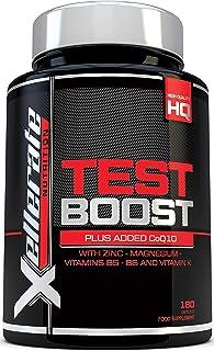 comprar comparacion Test Boost para Hombres | 180 Cápsulas Suplemento de Apoyo Nutritivo de Testosterona | Los Ingredientes Contribuyen a los ...