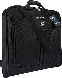 Crospack 2019 Upgrade Suit Carry On Garment Bag for Travel Foldable Flight Bag for Business Trips with Shoulder Strap