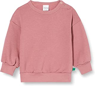 Fred'S World By Green Cotton Sweatshirt Cuff Sleeves Baby Maillot de survêtement Bébé Fille