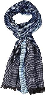 AIMEE Men's and Women's Viscose Scarf (Blue, 70x180 cm)