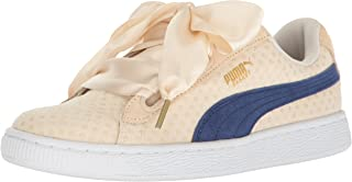 PUMA Womens Basket Heart Denim Women