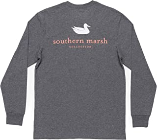 Southern Marsh Ls Authentic, Midnight Gray, X-Large