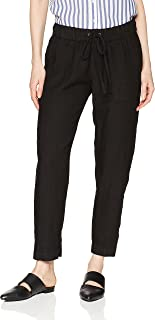 Women's French Linen Easy Pant