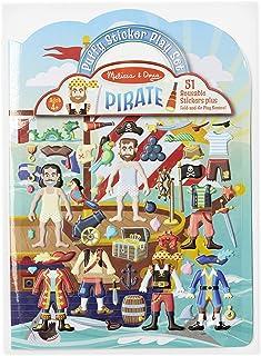 Melissa & Doug Puffy Sticker Activity Book: Pirates - 51 Reusable Stickers