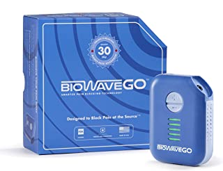 BioWaveGO Non-Opioid, FDA Cleared, Wearable Chronic Pain Relief Technology - Professional Athlete Proven & Trusted