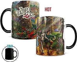 Morphing Mugs Thomas Kinkade The Wizard of OZ Follow the Yellow Brick Road Painting Heat Reveal Ceramic Coffee Mug - 11 Ounces