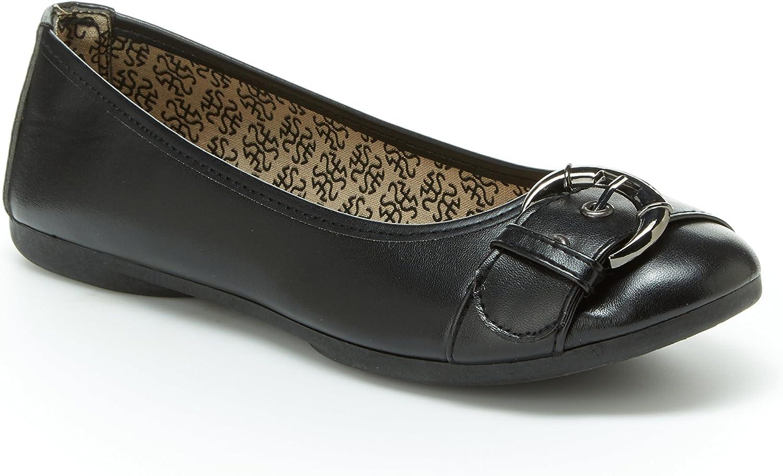 Harborsides Gloria Comfort Flat shoes for Women - PU Leather, Memory Foam Insole