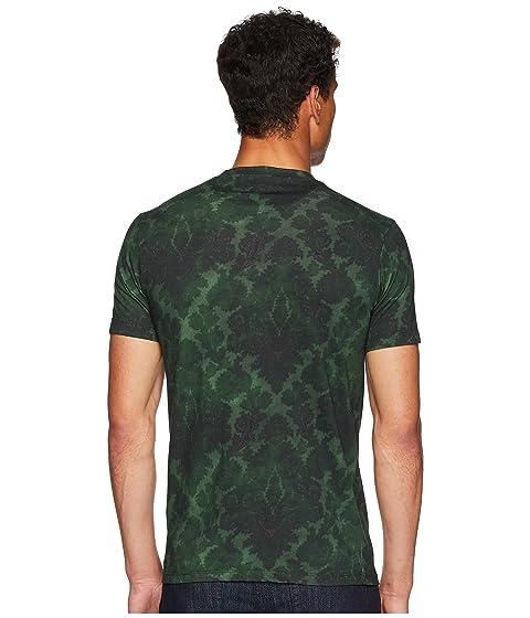 camiseta Etro Washed Etro Paisley verde Washed FpTxqH