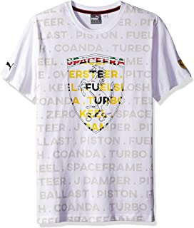 Motorsport Men's Ferrari Big Shield Tee