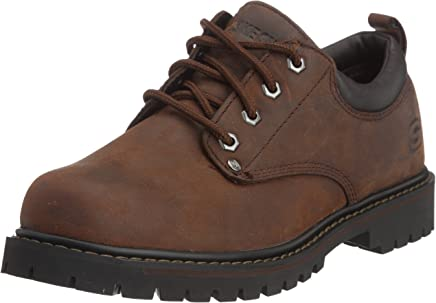 Skechers Men�s Tom Cats 6618/BOL, Chukka Boots, Dark Brown, 14 UK (49.5 EU) : boots