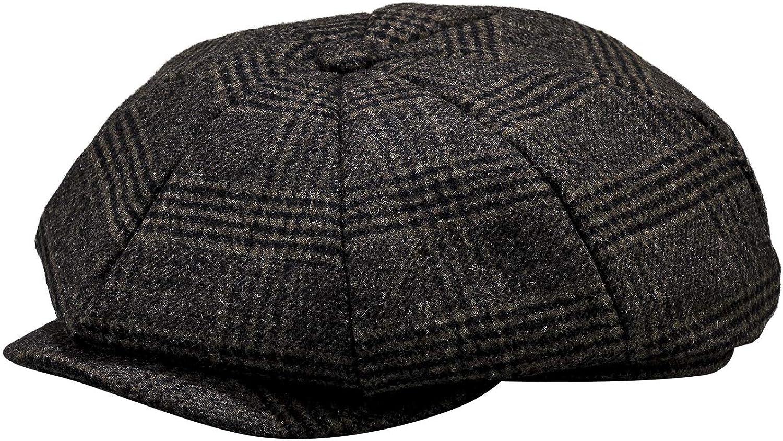Men's Wool Blend Newsboy Flat Cap Cabbie Ber Gatsby 8 Cheap mail order sales Ivy service Panel