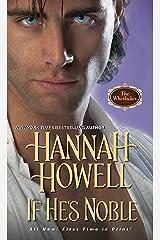 If He's Noble (Wherlocke Book 7) Kindle Edition